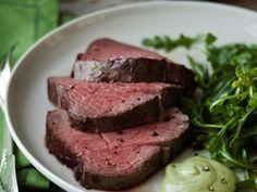 Ina Garten's Slow-Roasted Beef Tenderloin with Basil Parmesan Mayonnaise