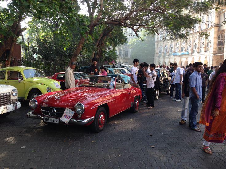 Mercedes Vintage, Mumbai