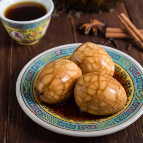Chinese Tea Eggs by @wokandskillet - #KeepOnCooking #Appetizer #Side #Snack #Vegetarian