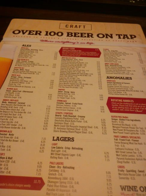 31 best Craft menus images on Pinterest Food menu, Graph design - beer menu