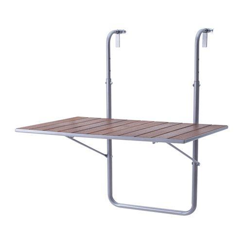ARRESÖ Tavolo da balcone IKEA Il tavolo è pieghevole e quindi facile da mettere via quando non lo usi.