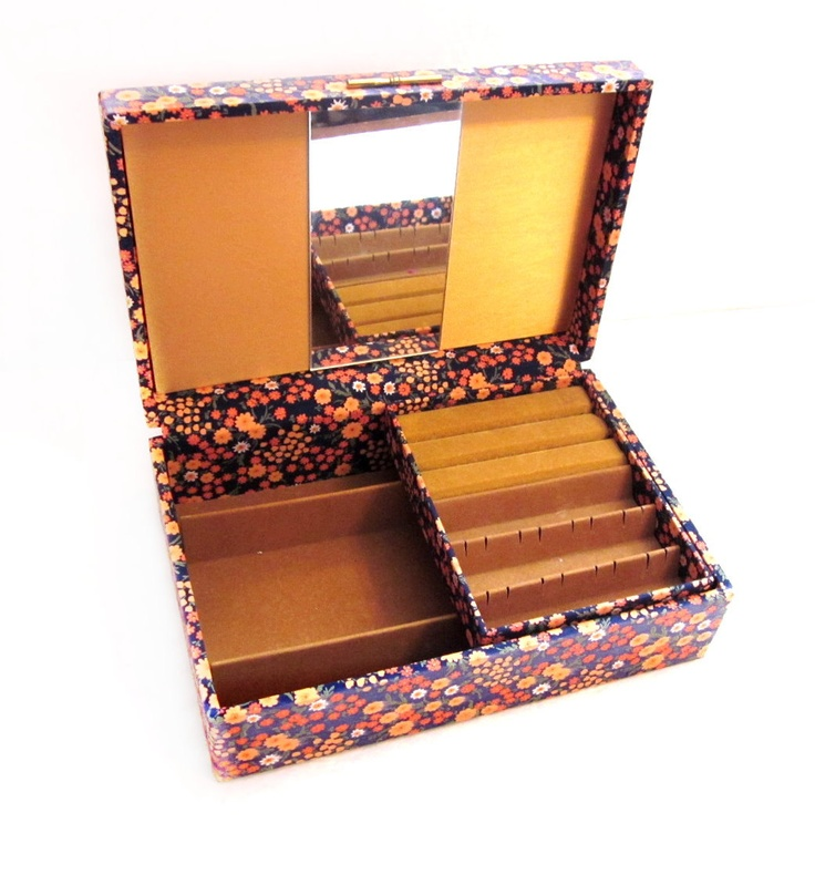 66 best jewelry boxes images on Pinterest Jewel box Trinket boxes