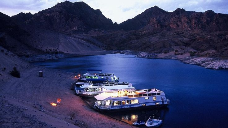 Blissful lake mead cove houseboat rentals houseboating
