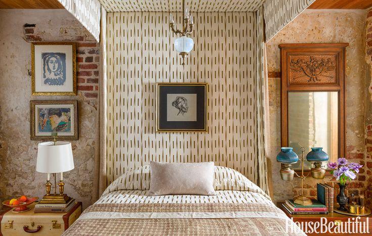 Guest Bedroom: Artwork  - HouseBeautiful.com