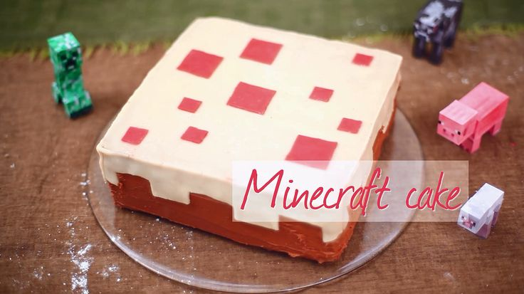 X Minecraft Cake Ideas