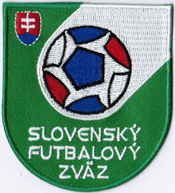 Slovakia National Football Team FIFA Soccer Badge Patch