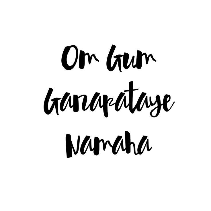 "Om = Salutations! Everyone wake up! Gam = The secret power sound of Ganesh. It is his ""seed syllable"" or bija mantra. Ganapataye = the breaker of obstacles. Namaha = Yo! Ganesh! You da God!"