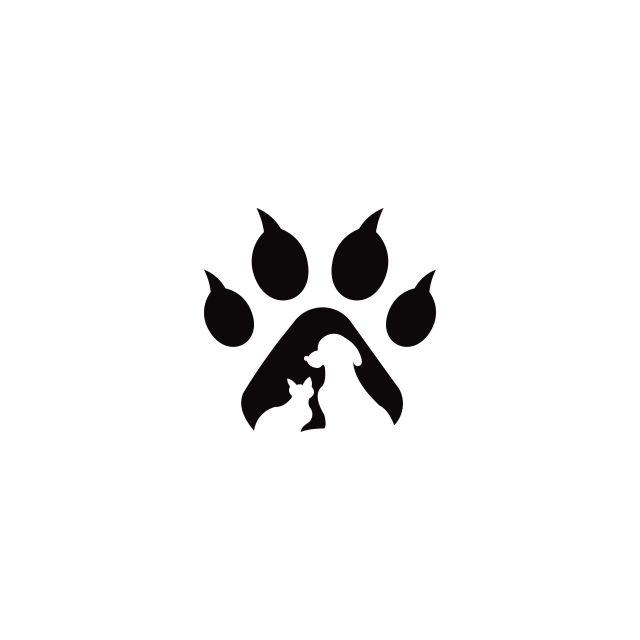 Pets Vector Logo Template This Cat And Dog Logo Could Be Red Dogs Paw Clipart Logo Icons Cat Icons Png And Vector With Transparent Background For Free Downlo Dog Vector Cat