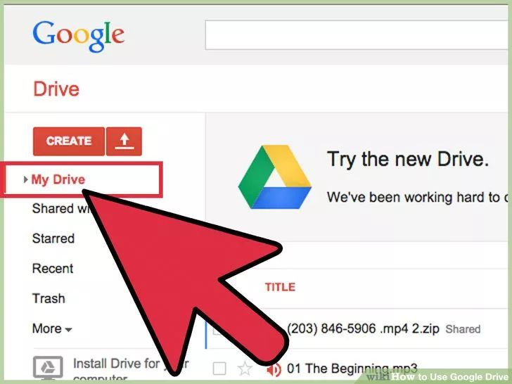 Image titled Use Google Drive Step 4