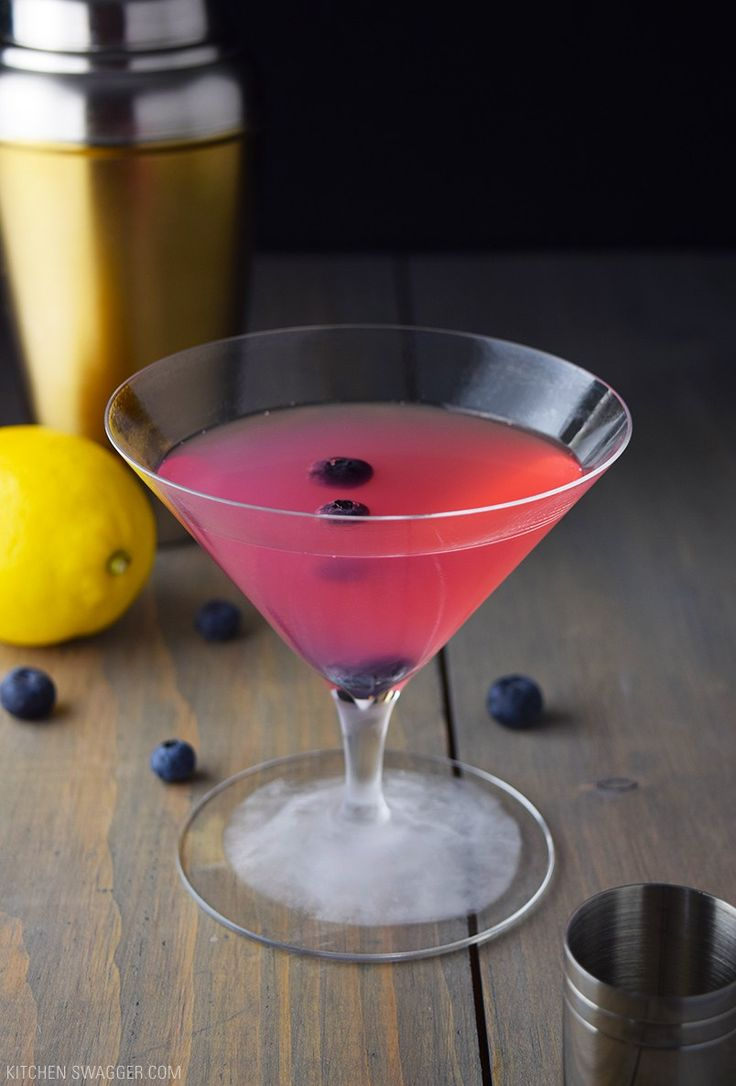 Anti-Oxidant Blueberry Martini Recipe                                                                                                                                                                                 More
