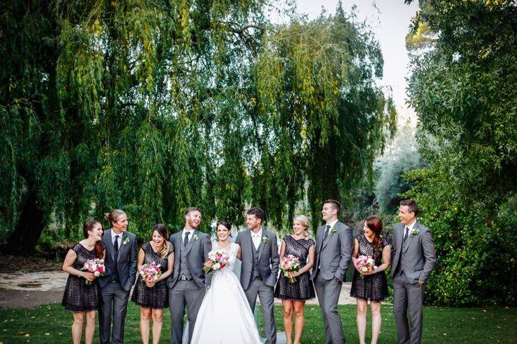 Bridal party Lake. #GlenEwinEstate #Weddings #bridal #adelaidehills #photos