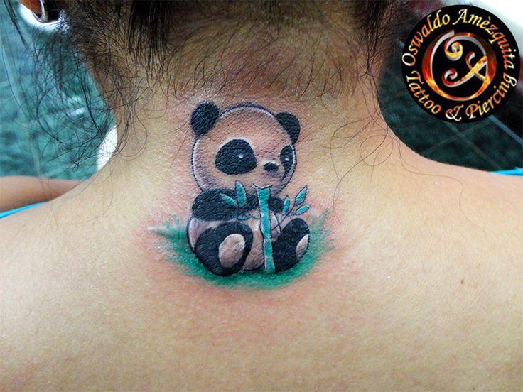 Oso Panda Mini Tatuaje Panda Bear Tattoo Mini | Best Galery lll ...