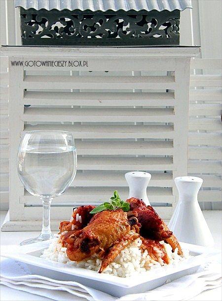 Dietetyczny klops z ryżem i cukinią Grillowane szaszłyki z karkówki Pieczona kaczka z jabłkami Karczek z grilla Drobiowe szaszłyki na styl orientalny Szaszłyki