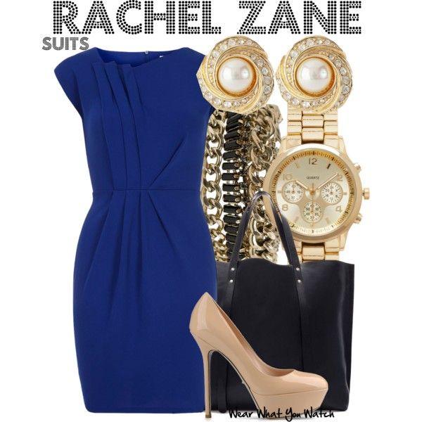 Inspired by Meghan Markle as Rachel Zane on Suits ; rachel Zane on suits probably has the best style and fashion sense