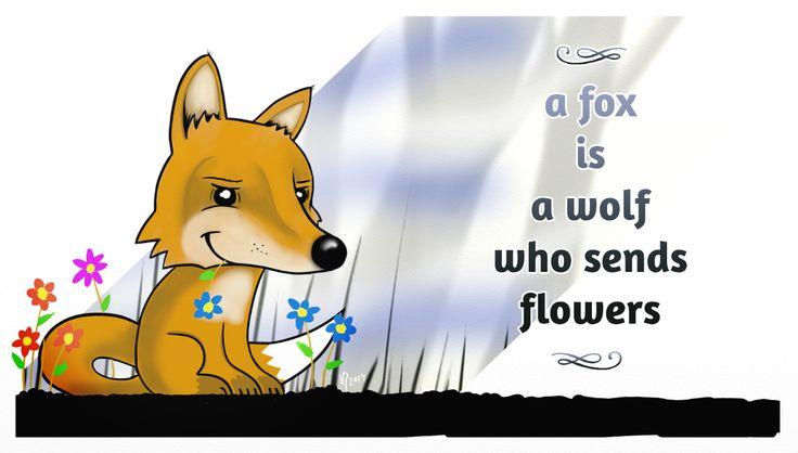 It's a fox