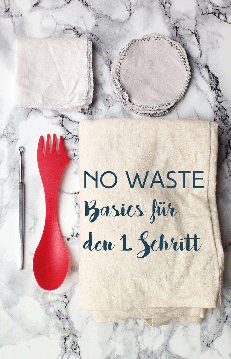 ZeroWaste - Basics für den 1. Schritt