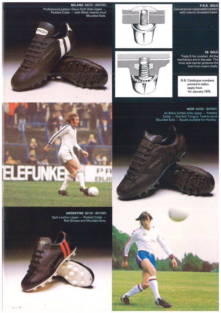 6082ad42f 1979 Patrick catalogue Football Boots