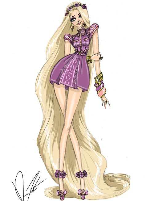 Disney Fashion Frenzy - Rapunzel By: Daren J                              …