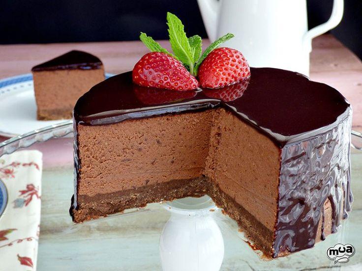 Cheesecake de chocolate | Comparterecetas.com