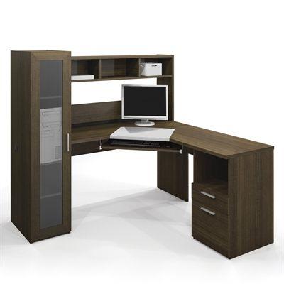 Bestar 90432-78 Jazz Corner Workstation