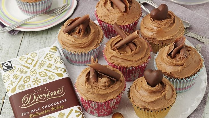 Milk Chocolate Cupcakes