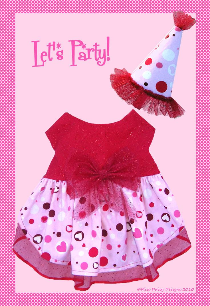 Dog Clothes Pattern To Sew Party Harness