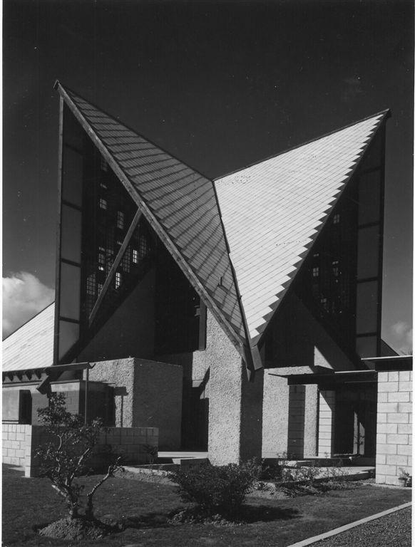 Mid 20th Century John Scott's Chapel of Futuna, Karori, Wellington