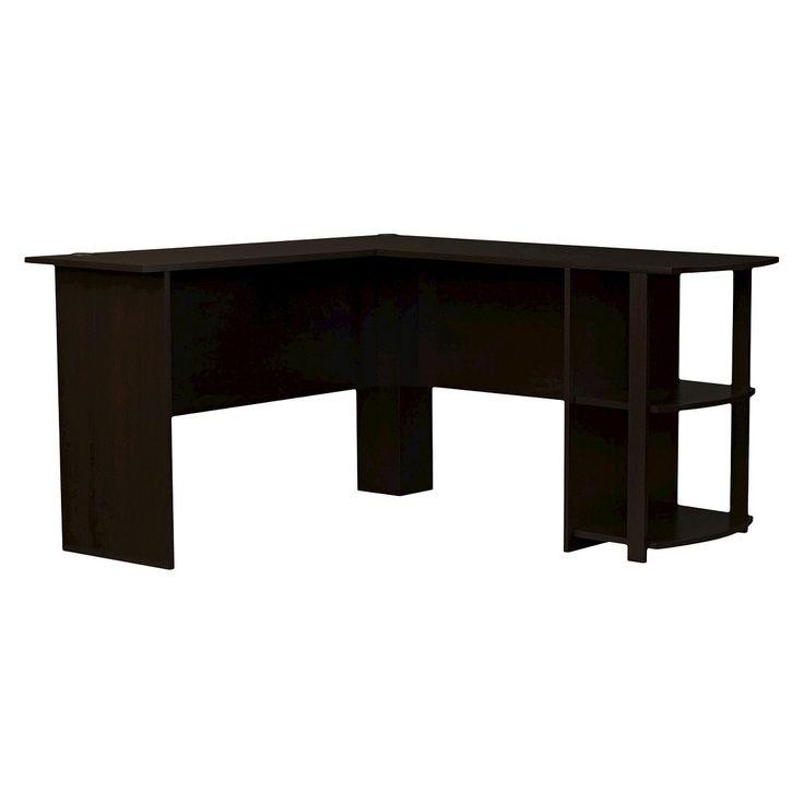 Ameriwood L-Shaped Desk Cherry