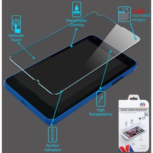 MYBAT Screen Protector for Microsoft Lumia 640 - Tempered Glass