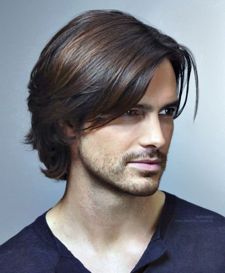 Hairstyles For Men With Long Hair Unique 93 Best Мужской Стиль Images On Pinterest  Beard Styles Beard