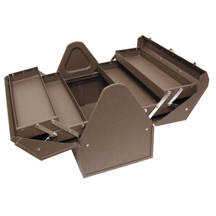 Homak 18 in. Cantilever Tool Box - BW00210180