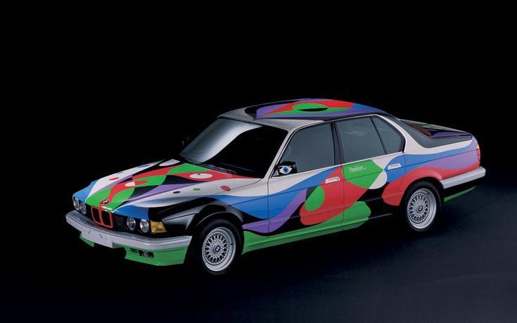 César Manrique, Art Car, 1990 - BMW 730i