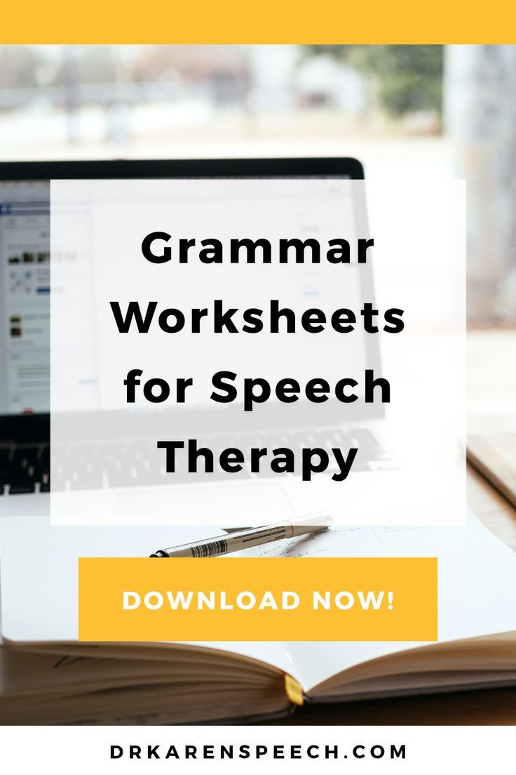 Grammar Worksheets For Slps A Must Have Tool For Generalization Dr Karen Speech And Language Grammar Worksheets Speech And Language Early Intervention Speech Therapy [ 1104 x 736 Pixel ]