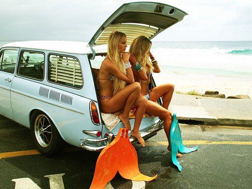 Mermaid flippers