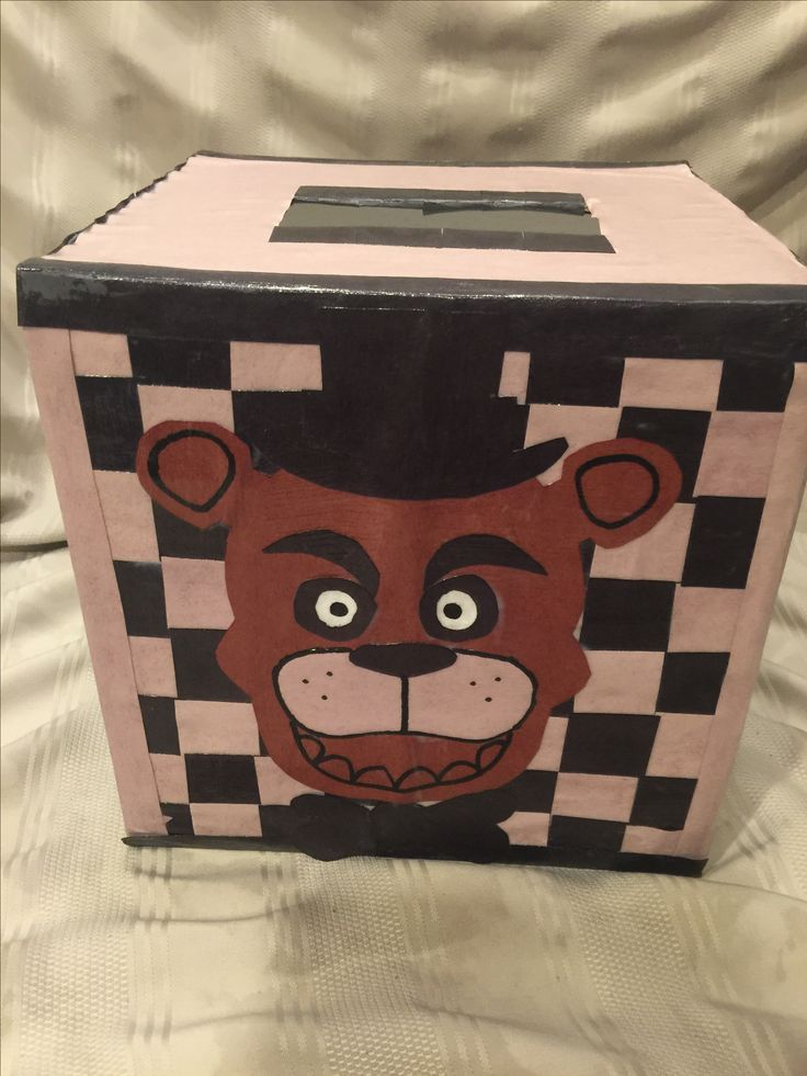 a92ef4db13c93d461cfdb7ef2cbb0d30 valentine box night - Five Night's at Freddy's Valentines Box.