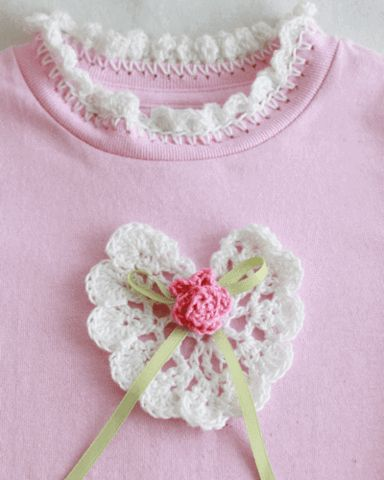 Picture of Rose T-Shirt Dress and Purse Crochet Pattern