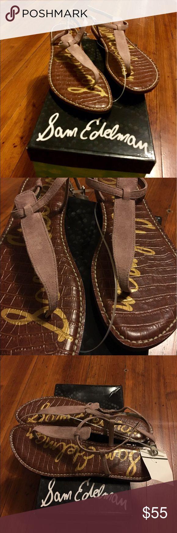 NWT Sam Edelman Gigi suede sandals Beautiful mauve suede sandals - brand new! The Sam Edelman classic sandal comfortable and chic! Sam Edelman Shoes Sandals