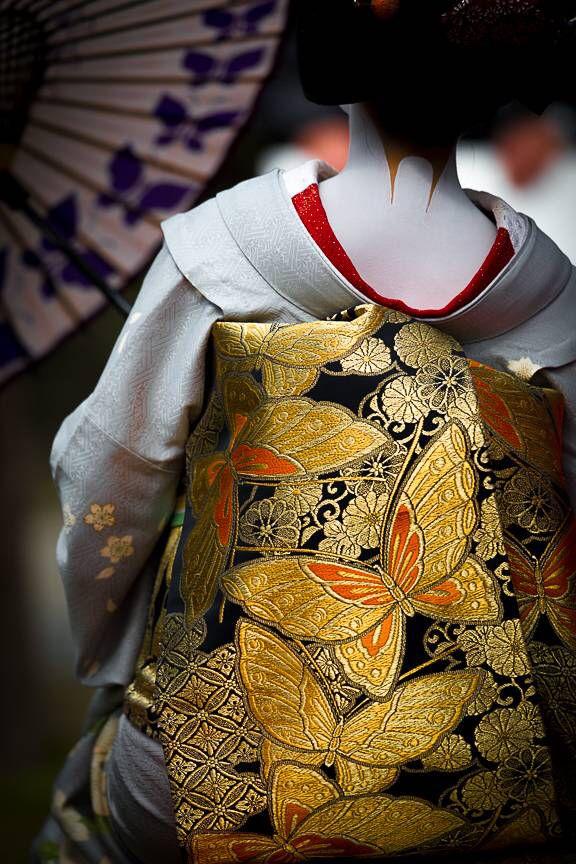 Butterfly Kimono, Kyoto, Japan