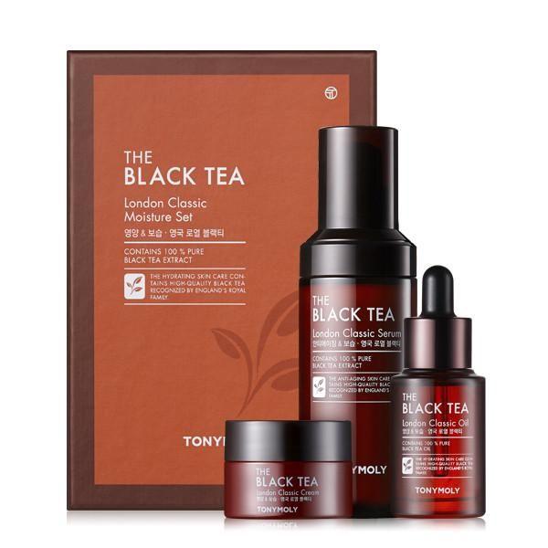 The Black Tea London Classic Moisture Set Moisturizer Skin Care Hydrating Cream