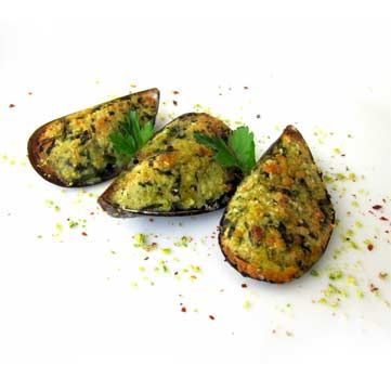 Cozze gratinate. Leggi la ricetta: http://www.frescopesce.it/cozze-gratinate/