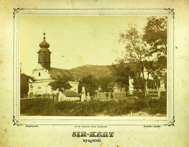 Temető kápolna. 1890 körül