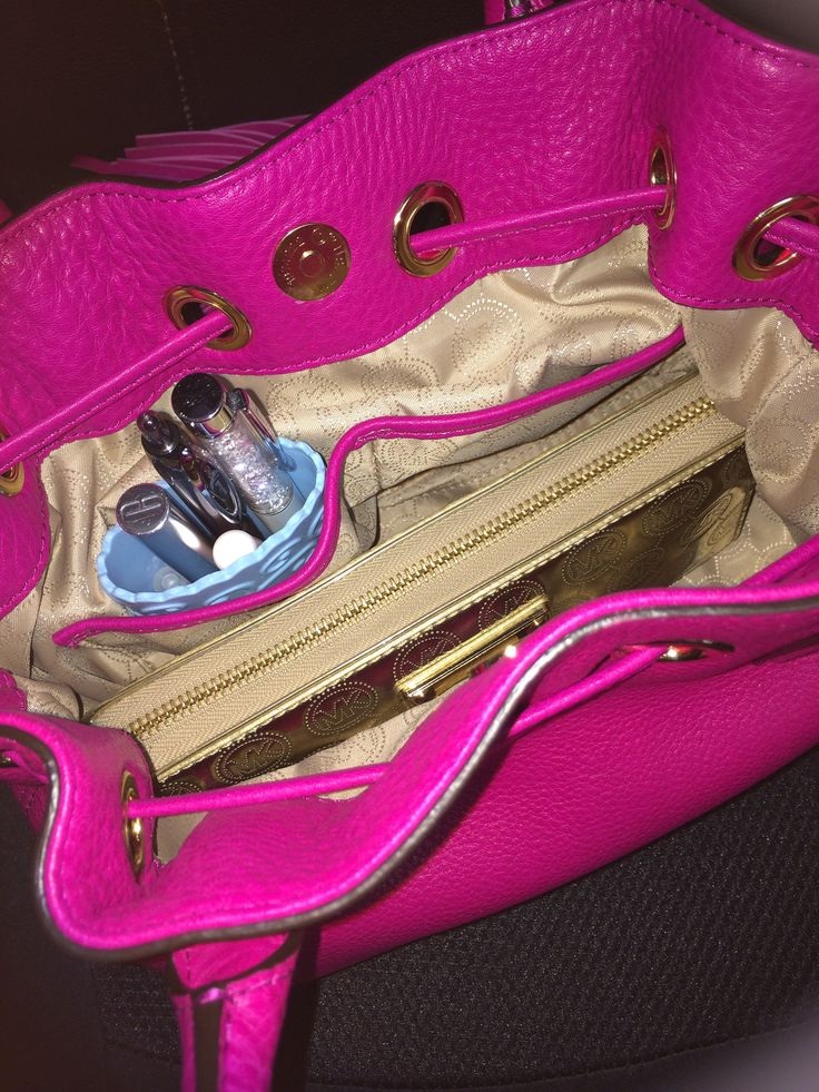The Perfect Purse Protector fits nicely inside your handbag and keeps your handbag stain free.