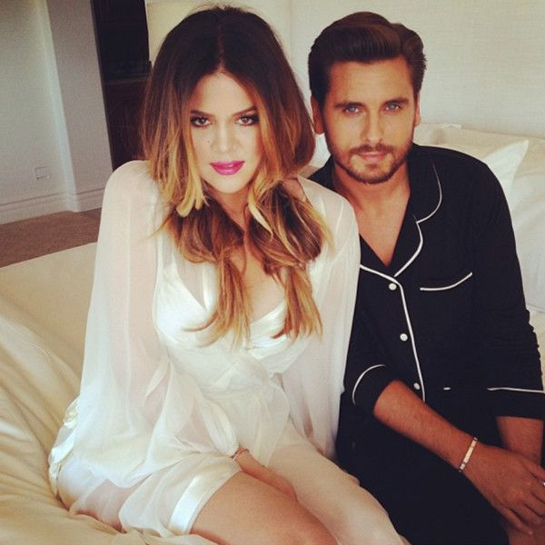 We love this pic of Khloé Kardashian Odom and Scott Disick!