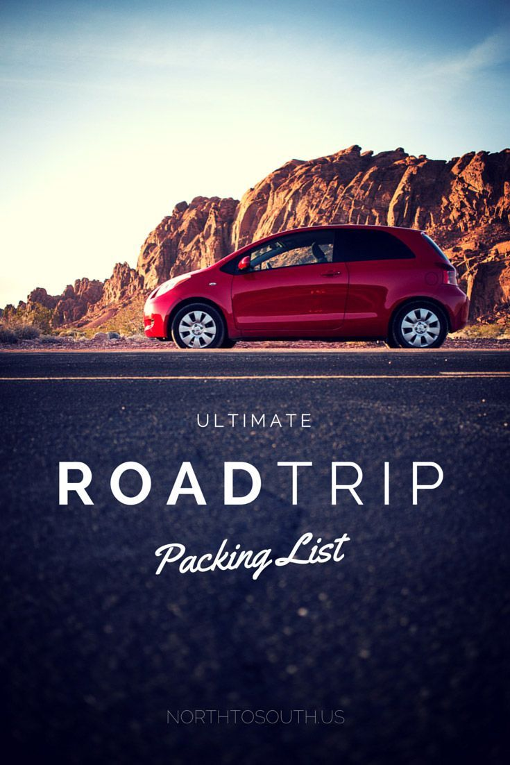 North to South's Ultimate Road Trip Planner: Packing List — With Free Download! – North to South