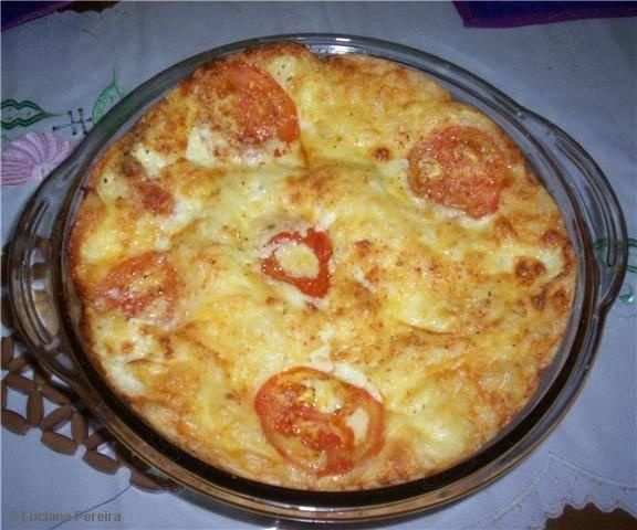 Receita de Torta de pizza
