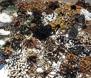 SALE MIX of 50 Bracelets and 50 Necklaces Wholesale/Bulk African Jewelry, Ethnic…   – Etsy