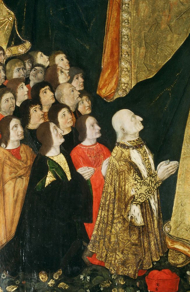 Casa cavassa particolare del dipinto 39 la madonna della for Casa artigiana progetta il maestro del primo piano
