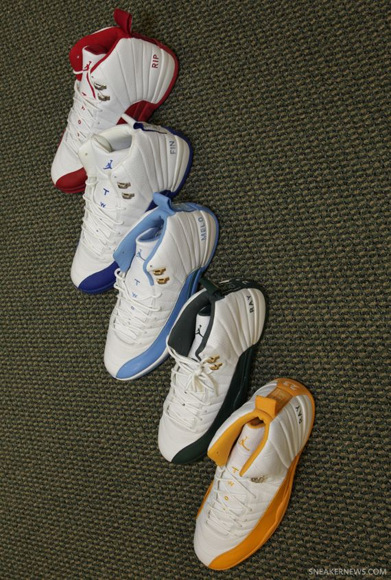 Air Jordans .. He most def wants! Yellow check.. rest not yet
