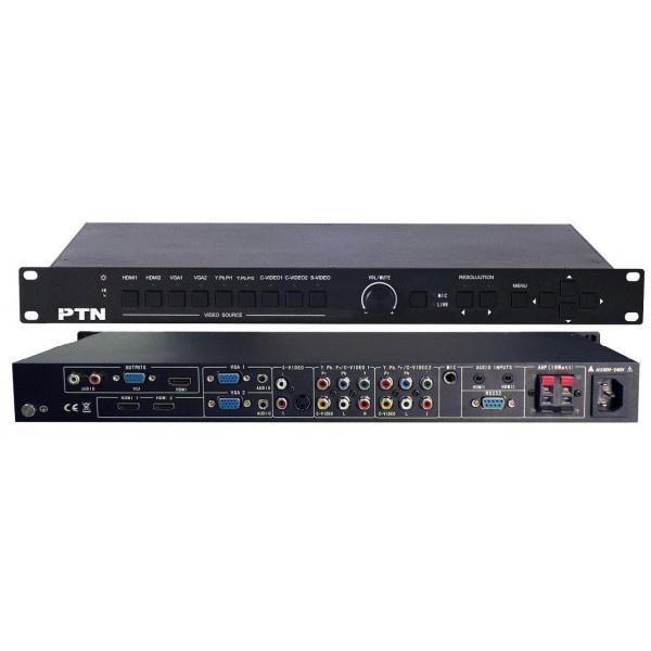 PTN SC91DM  9-input Presentation switcher/scaler with digital amplifier