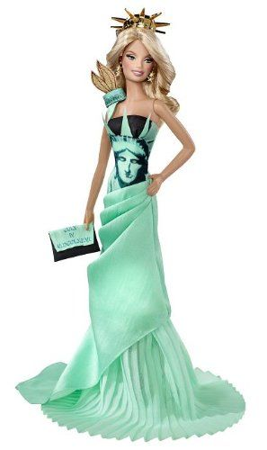 Dolls of the World Statue of Liberty Barbie